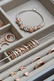 Fill your jewelry box with warmth and color. #PANDORATexas #PANDORARose