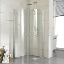 quarter round shower stall designs
