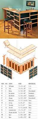 diy diy basement bar plans. how to build a basement bar free specs, cutting lists and plans diy l