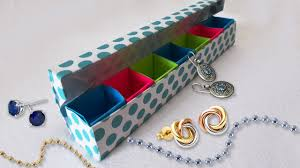 Diy Projects Diy Paper Crafts Origami Jewelery Box Tutorial Cool Diy
