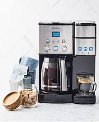 It is compact, stylish and easy to clean. Cuisinart Dcg 12bc Grind Central Coffee Grinder Reviews Coffee Makers Kitchen Macy S