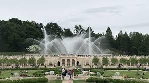 fountain garden. The Fantastical Comeback Of Longwood Gardens\u0027 Main Fountain Garden A