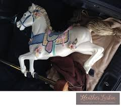 a little internet research later and i find out that she s a converted hobby horse she started life as one of those spring horses that kids bounce on