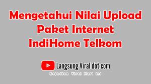 Promo berlangganan indihome paket phonix, bebas mendapatkan layanan wifi unlimited hingga 100 mbps dan bebas telepon 300 menit. Cara Mengetahui Dan Menghitung Kecepatan Upload Paket Internet Indihome Telkom Langsung Viral Com