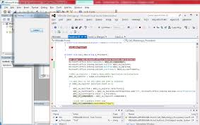 C How Can I Run A Macro From A Vbe Add In Without Application