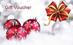 Gift Cards For Christmas Christmas Gift Voucher