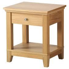 bedroom furniture bedside tables. Furniture Herefoss Bedside Table Oak Drawers Modern . Bedroom Tables