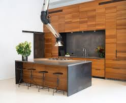 industrial range hood. Perfect Hood This Second Example Of A Space Age Stove Hood Was Designed By Studio DB  Because The Ceilings Where So High It Is Not An Actual But Rather  On Industrial Range Hood
