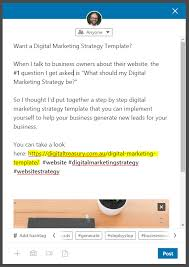 The 8 Step Digital Marketing Strategy Template 2019 For