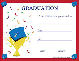 Graduation Certificates Projects To Try Graduation Certificate