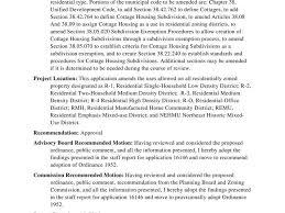 Staff Report Stunning Staff Report On Bozeman Draft Cottage Housing Ordinance
