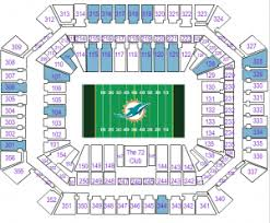 Miami Dolphins Seating Chart 2017 Miami Dolphins Tickets 2017