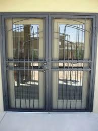 burglar proof sliding glass doors burglar proof french doors shock with security door designs plans design