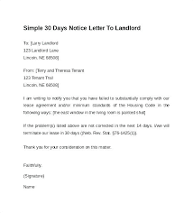 Apartment Lease Termination Letter Examples Landlord Sample Top