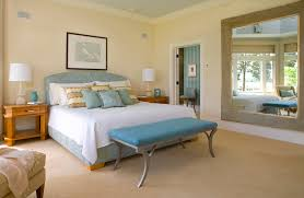 decorating walls with mirrors bedroom contemporary with crown molding yellow crown molding