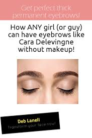 get perfect thick permanent eyebrows how any or guy can have