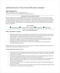 Example Of Resumes For Administrative Assistants 10 Medical Administrative Assistant Resume Templates Free