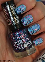 Rimmel London Glitter Bomb Top Coat Blog