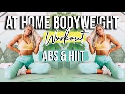18 minute ab and hiit workout no