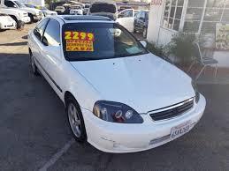 honda civic 2000 ex. Brilliant Honda 2000 Honda Civic EX 2dr Coupe  Fontana CA To Ex 0
