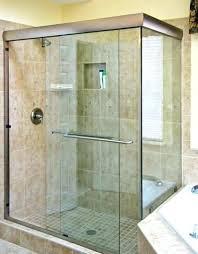 shower door decals bathroom glass doors small semi sliders sliding frosted uk