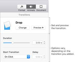 Add Transitions Between Slides In Keynote On Mac Apple Support