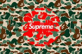 supreme bape wallpapers top free