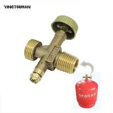 YINGTOUMAN LPG Bottle Valve for <b>Gas</b> Cylinder Tank <b>Stoves Refill</b> ...