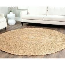 casual natural fiber hand loomed sisal style jute rug round rugs uk