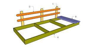 flat garden bridge free diy plans