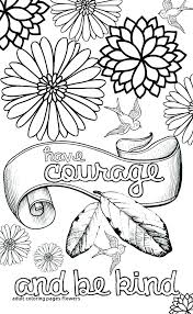 Flower Adult Coloring Pages To Download Free Jokingartcom Flower