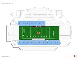 Washington Grizzly Stadium Sideline Boxes Football Seating