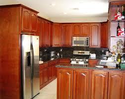 Kitchen Design Cherry Cabinets Interesting Huntington Cherry Walnut Kitchen Cabinets Low Cost Kitchen