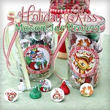 Christmas Candy Jar Decorations