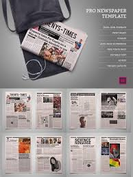 Creative Newspaper Template Cm Pro Newspaper Template 453135 Nitrogfx Download