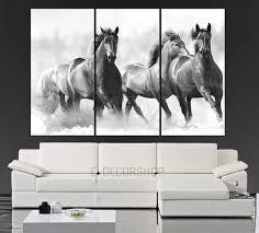 large wall art running wild horses canvas from mycanvasprint full size prints bedroom decor piece ideas metal funky buddha iron acrylic big framed black