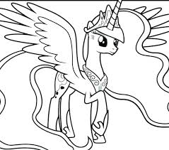 My Little Pony Print Coloring Page My Little Pony My Little Pony