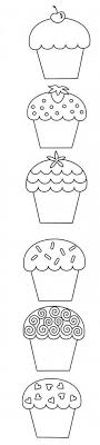 Small Picture Cupcake Happy Birthday Coloring Pages Cookie Coloring Pages