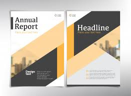 cover pages annual report cover pages vector