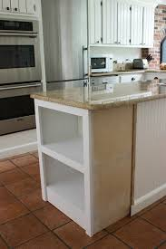 microwave in island. Adding Shelving To Kitchen Island Microwave In