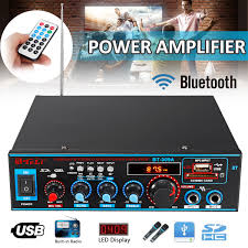 <b>800W HIFI 2CH</b> Audio Power Amplifier 12/220V Home Theater ...