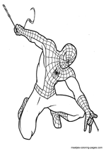 Spiderman Coloring Pages Overview 1