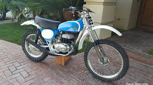 1970s bultaco pursang motocross bikes