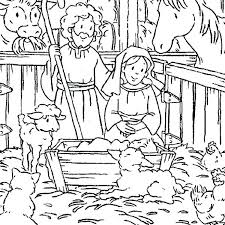 Printable Religious Christmas Coloring Pages Coloring Book Pages
