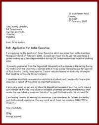 How To Write A Cover Letter For Free How To Write An Application Letter Template Application Letters
