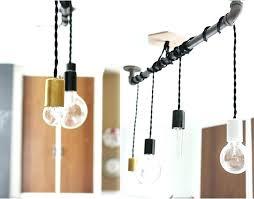 exposed lighting. Industrial Look Lighting Track Wonderful Trend Exposed Bulb Pendant For