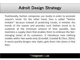 zara case study pestle swot analysis  9