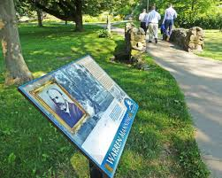 Photos New Interpretive Signs Installed In Wilcox Park