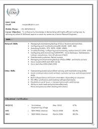 Cisco Network Engineer Resume Sample - Resume Invoice