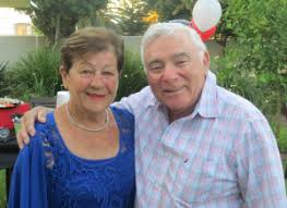 Mazeltov to Shirley & Ivan Cohen on their 60th. Wedding anniversary